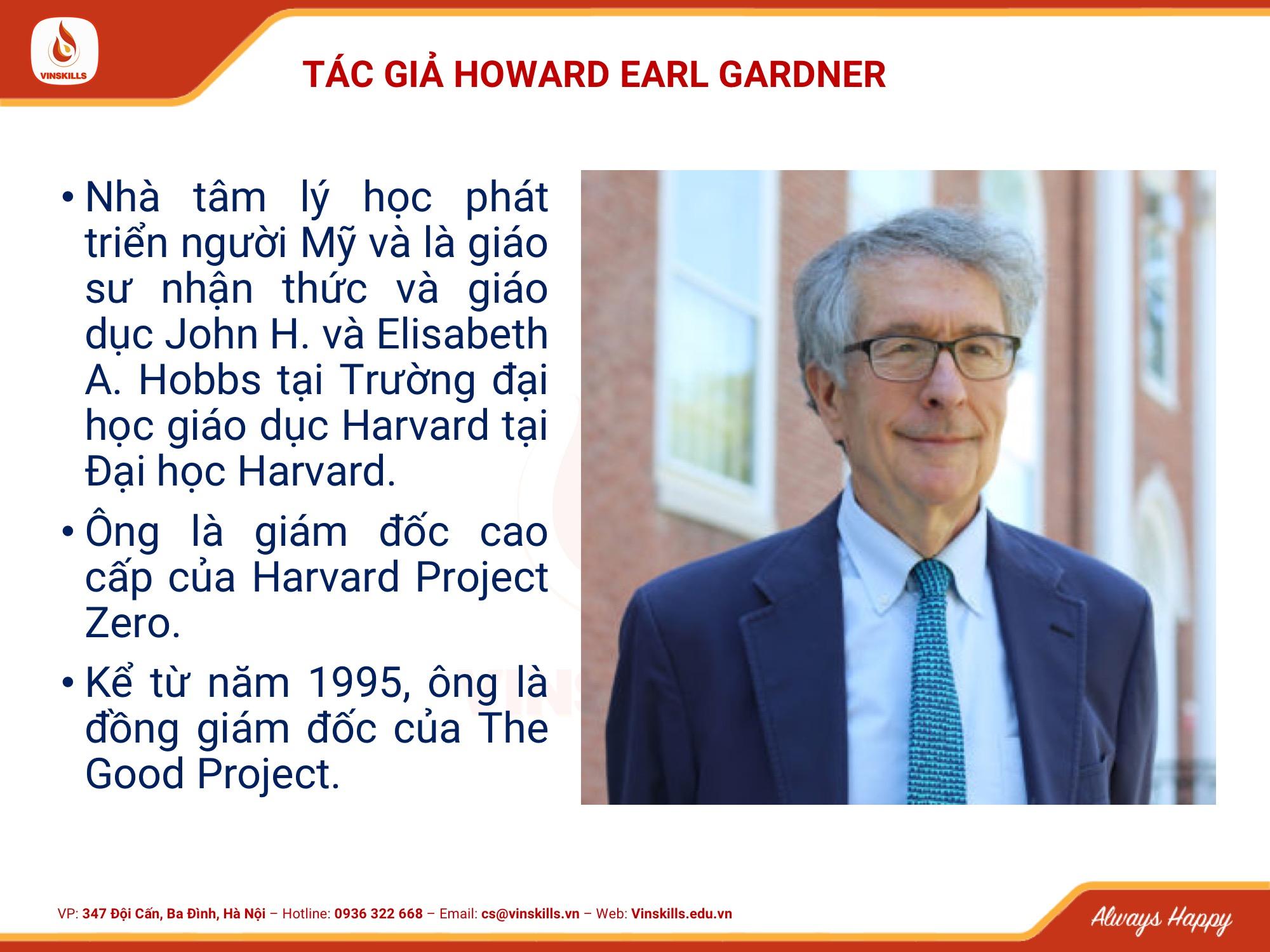 Da tri tue Howard Gardner